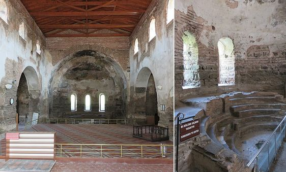 Interior of Hagia Sophia, Nicea-İznik