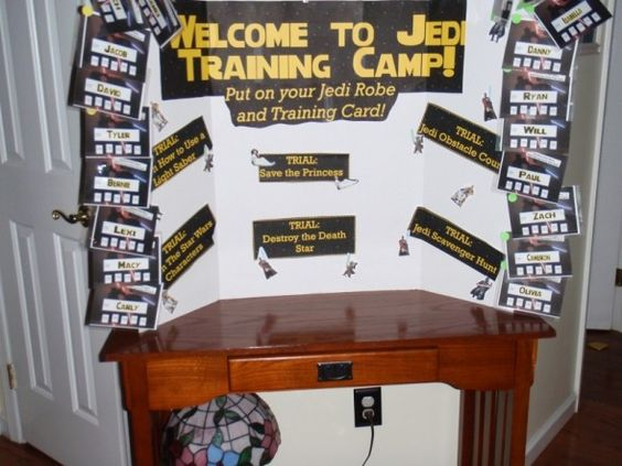 Star Wars Birthday Party Ideas and Printables - lots of Star Wars party games