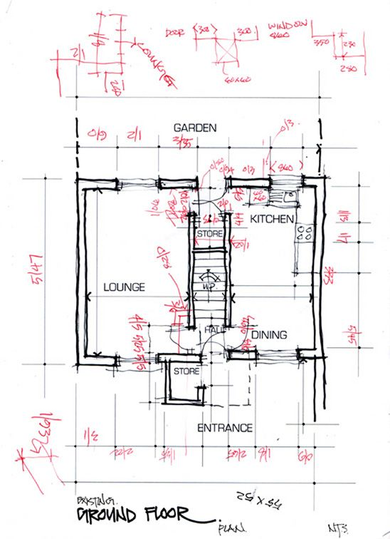 Architectural Survey Notes Of Survey Recorded For Drawing Up Accurate Floor Plans Glen Craig Architecture Architecture Design Built Environment