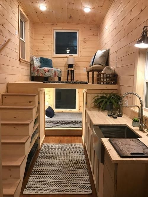 49 Cool Tiny House Design Ideas To