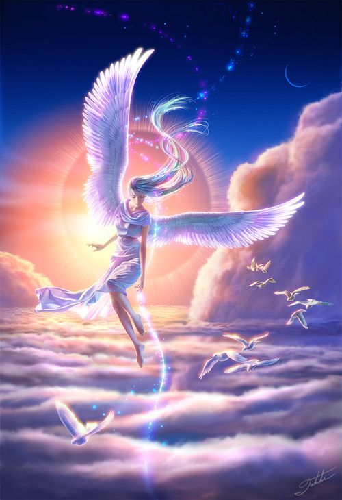 Beautiful Angel Fantasy Art - Picanese image 143