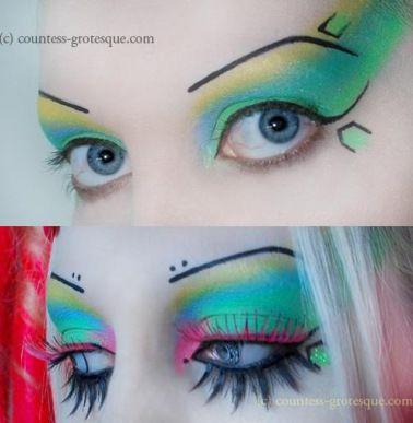 Countess Grotesque Make up