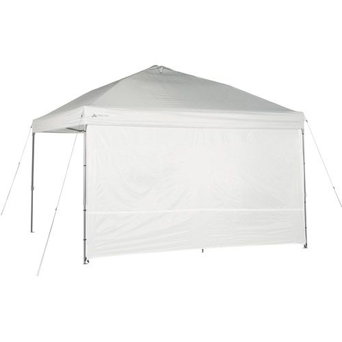 Ozark Trail Sunwall for 12' x 12' Straight Leg Canopy / Gazeo (00817427011157) Ozark Trail Sunwall for 12' x 12' Straight Leg Canopy / Gazeo: For use with Ozark Trail 12' x 12' Instant Canopy (sold separately) Provides 50 plus UV protection Provides additional shade, wind protection and privacy Constructed of heavy duty 150D polyester fabric Easily attaches to canopy frame with hook-and-loop fasteners Includes carry bag 6-month limited warranty