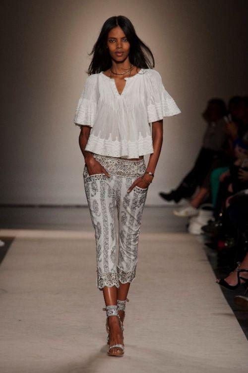 [No.33/43] ISABEL MARANT 2013 S/S | Fashionsnap.com