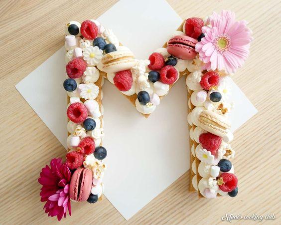 RECETTE NUMBER CAKE LETTRE ANNIVERSAIRE CONFINE - FETE EN KIT