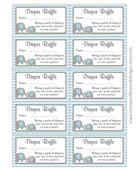 tickets raffle tickets diaper raffle free printable diapers templates