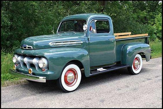 1951 ford f1 pickup 239 ci 3 speed vintage pick up. Black Bedroom Furniture Sets. Home Design Ideas
