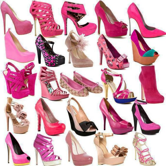 Love all these except the flats an the ones wit the big bows