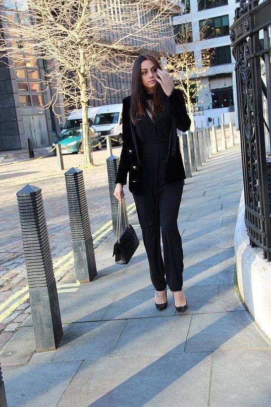 'Jumpsuit glory' | Shoes Demin Sequins // #NobodysChild #fashion #blogger