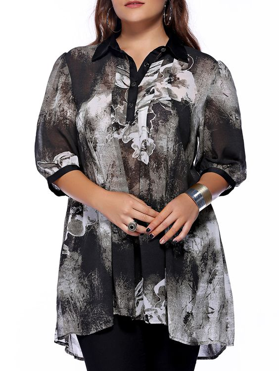 Lovely Plus Size Blouses