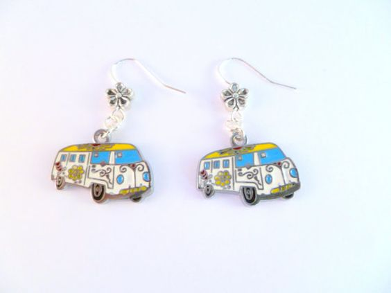 Hey, I found this really awesome Etsy listing at https://www.etsy.com/listing/84921317/vw-bay-hippy-camper-van-earrings