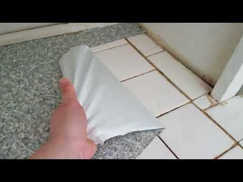 Can You Really Put Contact Paper On Countertops Little Victorian Contact Paper Contact Paper Countertop Removing Contact Paper