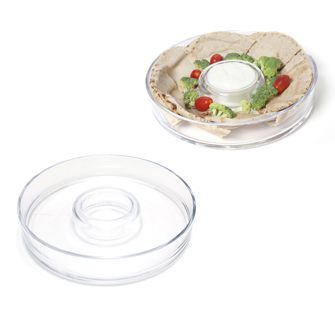 Round one piece chip and dip - PRODUCT CODE: 400-VICKIE