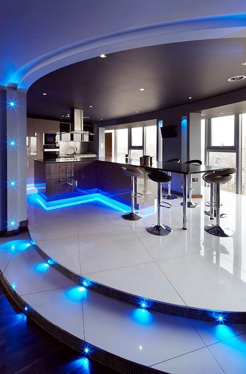 Construir es el arte de crear infraestructura - Luxury modern kitchen design ...