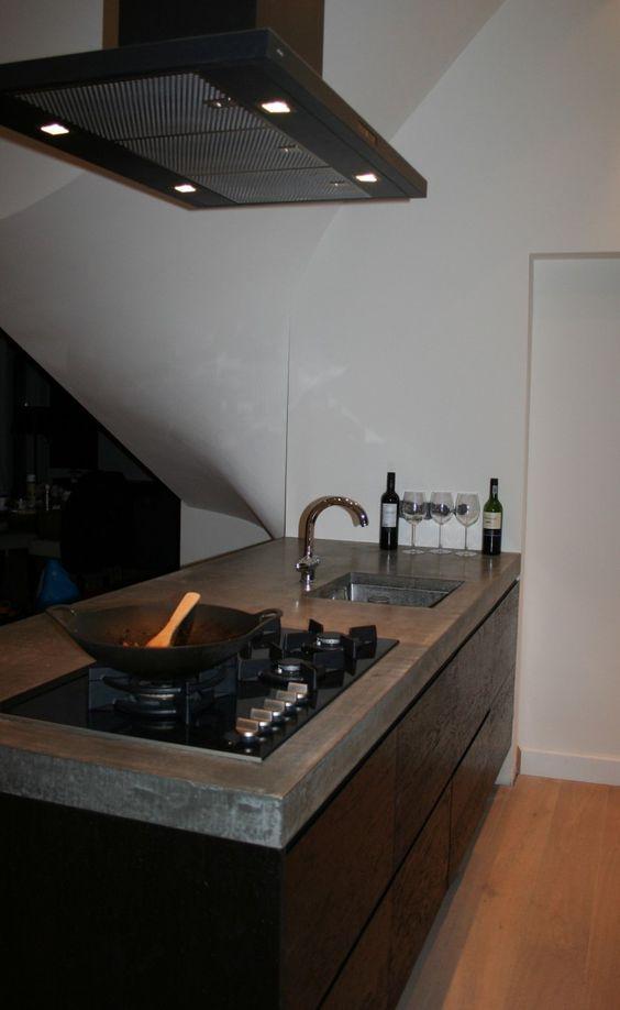 Zwart eiken houten keuken ikea Koak Design. Zwart eiken houten ...