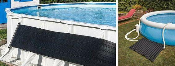 riscaldatore solare piscina