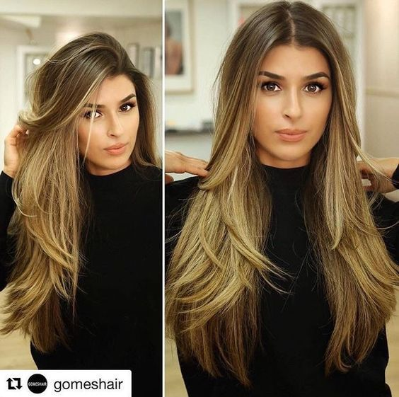 32 Cute Hairstyles For Long Straight Hair 2018 2019 Long Layered Hair Haircuts For Long Hair Beautiful Long Hair