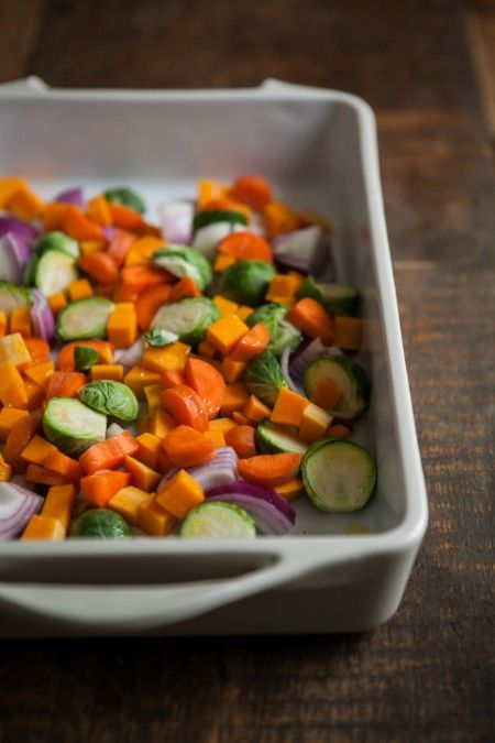 Roasted Winter Vegetable and Millet Salad | Naturally Ella