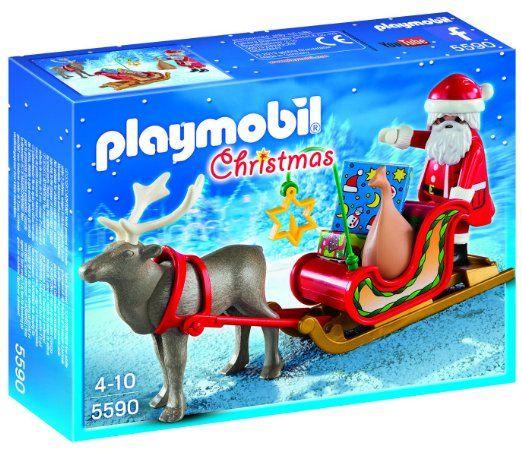Playmobil - A1502750 - Jeu De Construction - Père Noel Avec Traineau