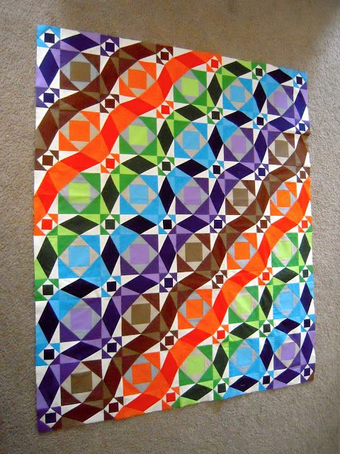 Always Sewin' Somethin!: Storm at Sea quilt