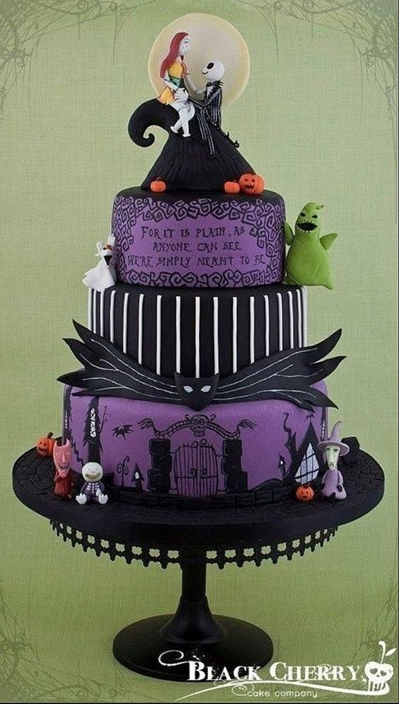 Jack and Sally Great Cake!!!!