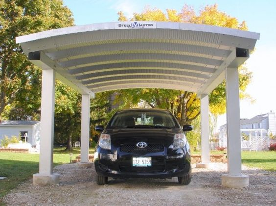 Carport Designs Metal Structure And A Fan On Pinterest