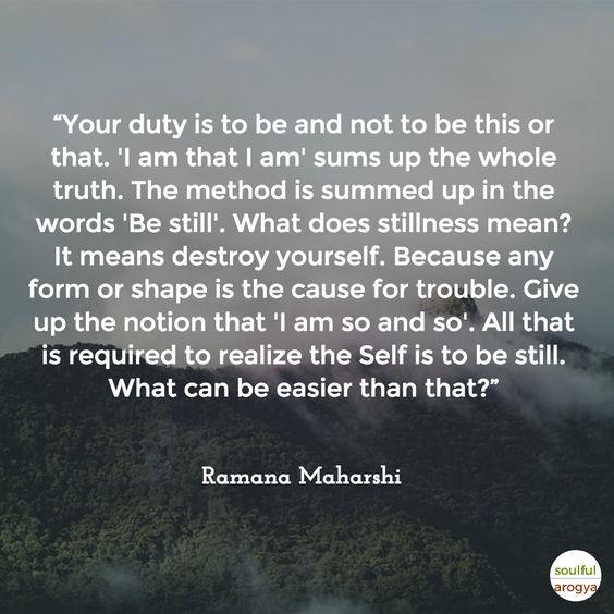 Ramana Maharshi Quote 6