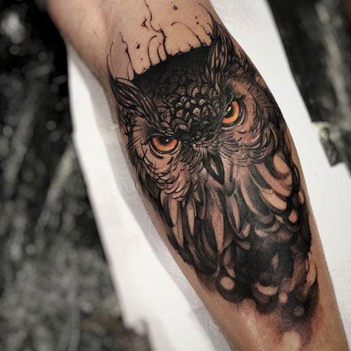 125 Best Tattoo Ideas For Men In 2020 Cool Forearm Tattoos Owl Tattoos On Arm Mens Owl Tattoo