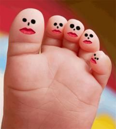 le pied, est une image drôle publiée le 14 Mai 2016 par ROUGETNOIRS. Un gif animé drole