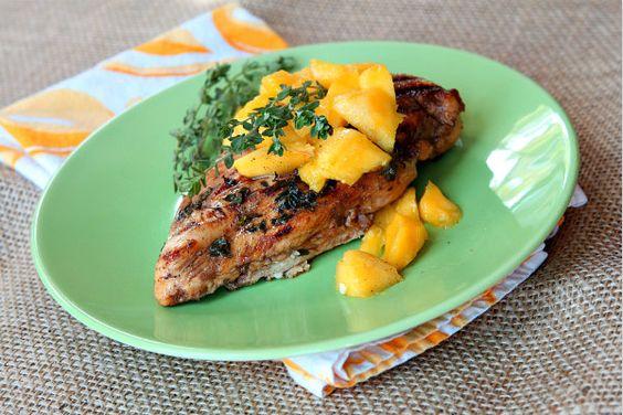 Mango Nectar Chicken - Unsandwich