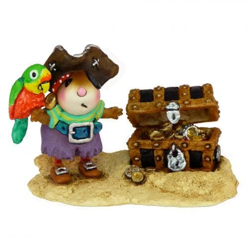 Pirate Mouse Pirate Figurine Wee