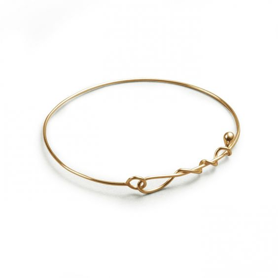 "WHITEbIRD | Bracelet ""Two Lines of Love"" - Jacqueline Rabun"