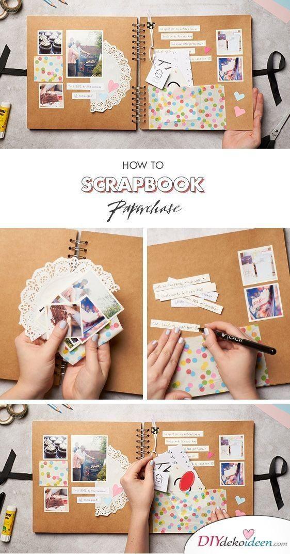 Selbstgemachtes fotobuch für freund