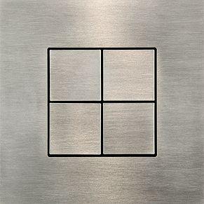 CJC es una compañía belga con una colección de interruptores minimalistas, distribuidos en España por la empresa Difusiona