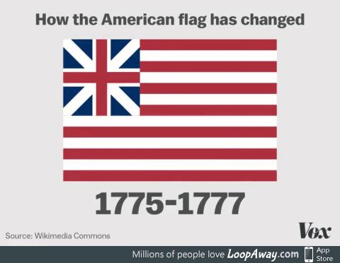 The Various Changes To The American Flag Since 1775 American Flag Flag American