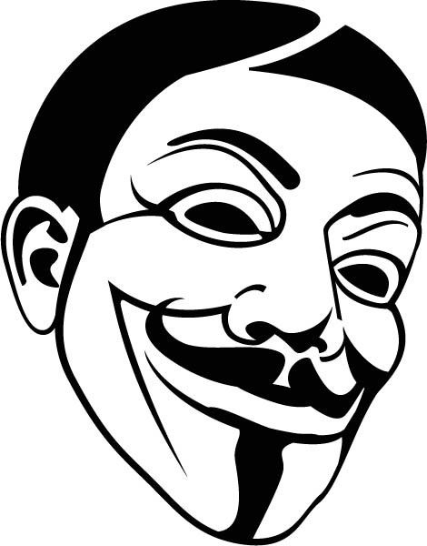 Guy Fawkes Vinyl Decal Car Sticker Vinyls Products And Cars - Create car decals online