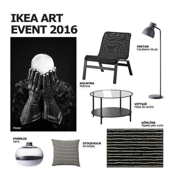 """A peça que Mathieu traz à coleção IKEA Art Photography tem tudo a ver com contraste. Ainda que seja uma das primeiras peças que criou, continua a adorá-la: """"Representa muito bem todo o meu universo e a pessoa que realmente sou."""" #decoração #arte #fotografia #IKEAPortugal"""