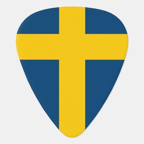 Flag Of Sweden Guitar Pick Flag Sweden Sweden Flag