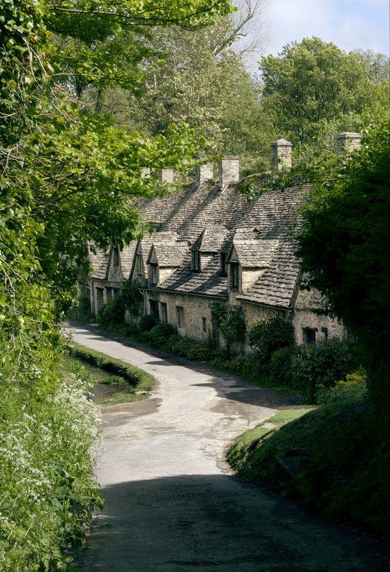 Arlington Row, Bibury, Gloucestershire, England byForgotten Heritage Photography