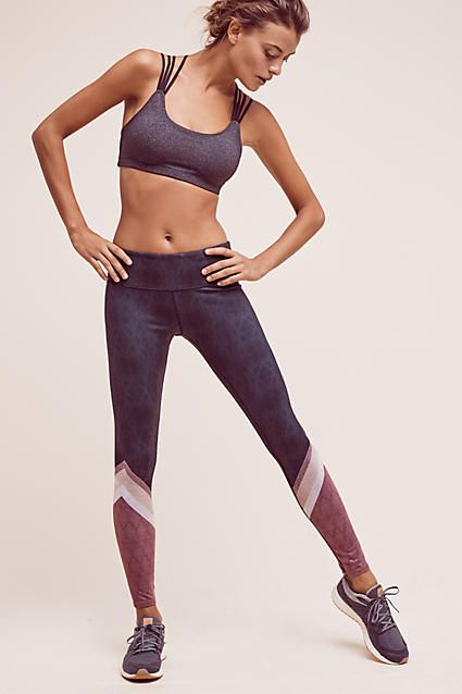 Colorblock Studio Leggings - anthropologie.com