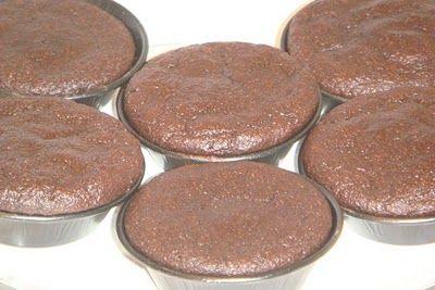 Receitas Low Carb: Bolo de chocolate molhadinho