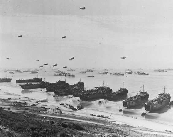 d-day landing tanks