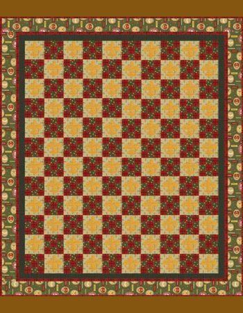 Scout's Honor - Free Pattern.  www.AlderwoodQuilts.com