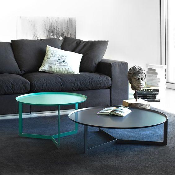 Meme Design - Tavolino Round Eleganti tavolini rotondi. Disponibili in 4 dimensioni: 40/60/80/120cm e 15 colori differenti