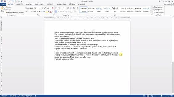 Tutoriel vidéo pour apprendre à créer du faux-texte sur Word en vue de tester une mise en page dont le texte n'est pas définitif. Comment créer du texte Lorem Ipsum sur Word pour voir le résultat d'une mise en page ?  Pour lire ce tutoriel en version texte, rendez-vous sur Votre Assistante : http://www.votreassistante.net/inserer-faux-texte-sur-word