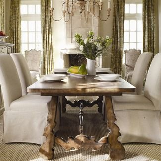 Hooker Furniture Sanctuary Rectangle Dining Table In Drift