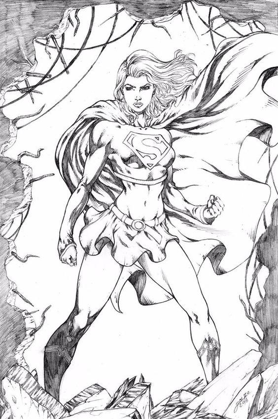 Supergirl by Jairo Ronne
