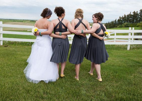Infinity Bridesmaid Dress by thejerseymaid on Etsy