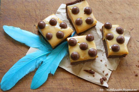 Mia Bella Passions Choc-caramel Easter Slice