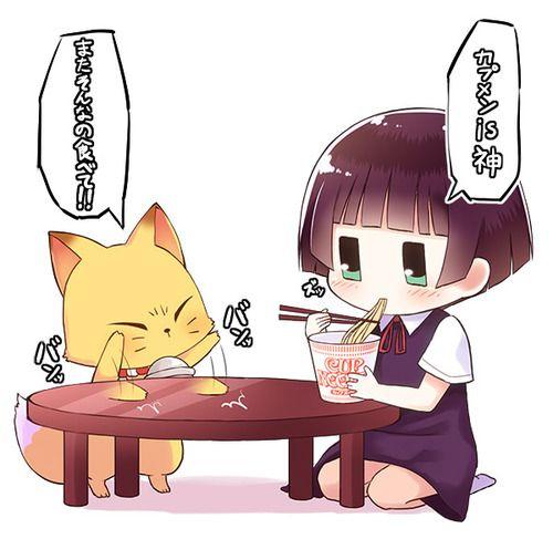 kokkuri-san y kohina